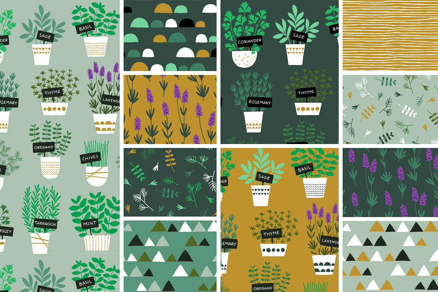 Herbs collection by HvdT